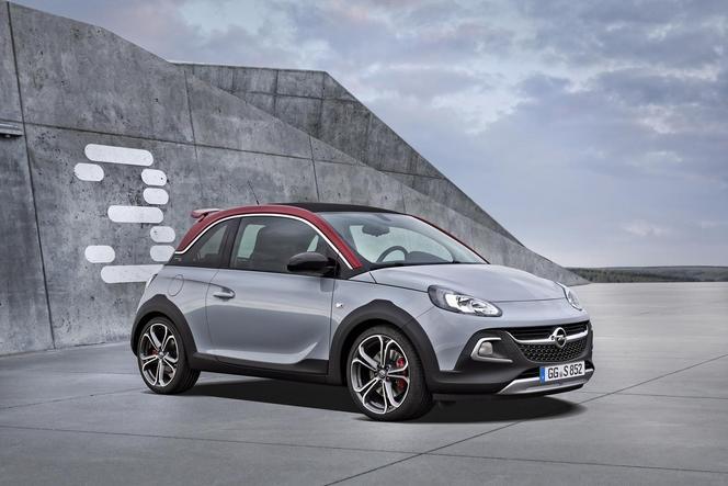 Opel officialise l'Adam Rock S