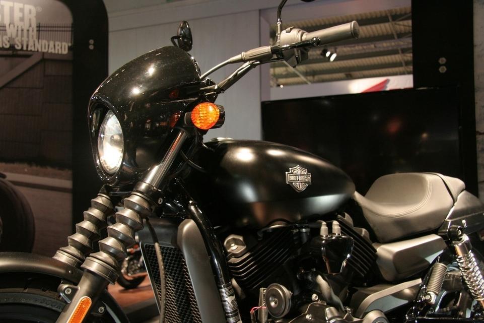 Salon de Milan en direct : Harley-Davidson Street 750 et 500