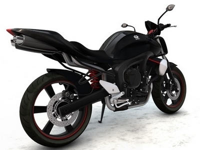 Design & Photoshop : Concept FZ6 et Vespa 3D par Marc