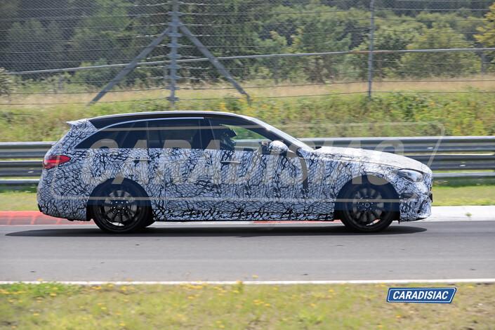 Scoop - la nouvelle Mercedes C63 AMG (2022) termine sa préparation