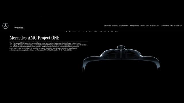 Mercedes-AMG : l'hypercar officialisée et baptisée Project One