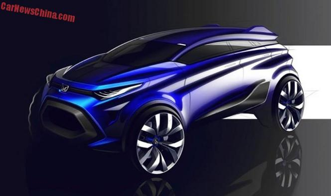 Salon de Shanghai : Jiangling Yusheng S330 Concept