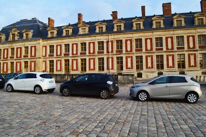 La Renault Zoe s'offre Versailles pour son 1er anniversaire