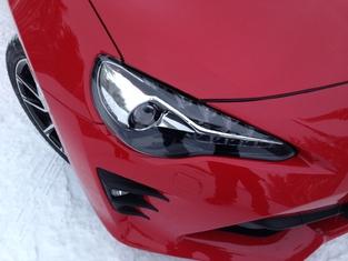 Toyota GT86 restylée : découvrez les premières images de l'essai en live
