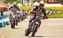 Supermotard, championnat du monde 2012: Adrien Chareyre empoche Palerme (interview)