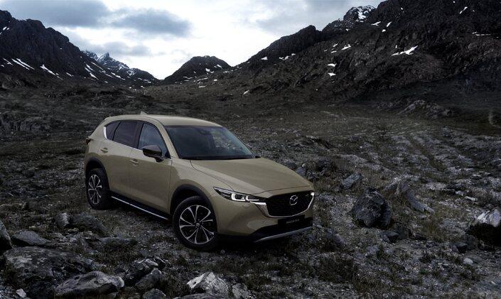 Le Mazda CX-5 reçoit quelques mises à jour