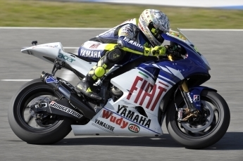 Moto GP - Test Jerez D.1: Une bonne journée pour Rossi, aux pneus de qualif près.