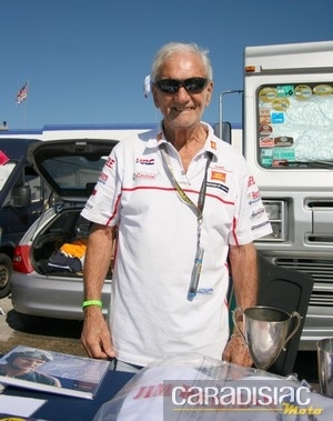 Interview de Jim Redman, sextuple champion du monde et premier pilote à avoir remporté 3 grands prix le même jour...