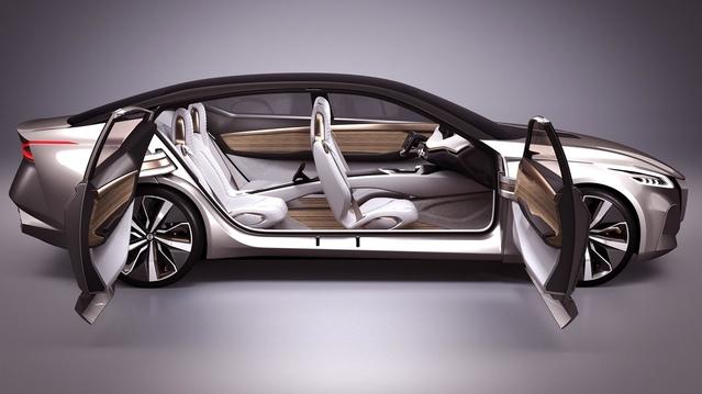 Salon de Detroit 2017 : Nissan V-Motion, le futur de la marque