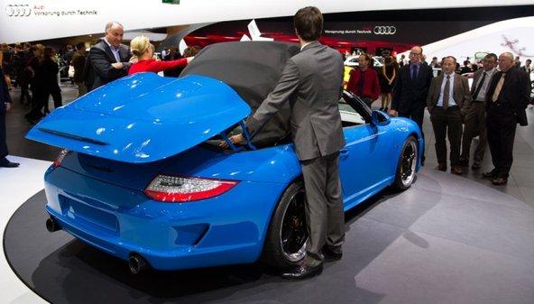 On remet ça ? Photos de l'exclusive Porsche 911 Speedster