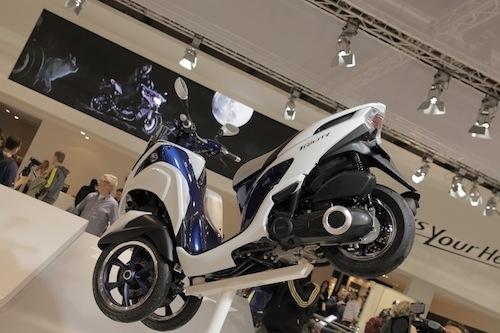 Salon de Milan En Direct : Yamaha Tricity 125 cm3