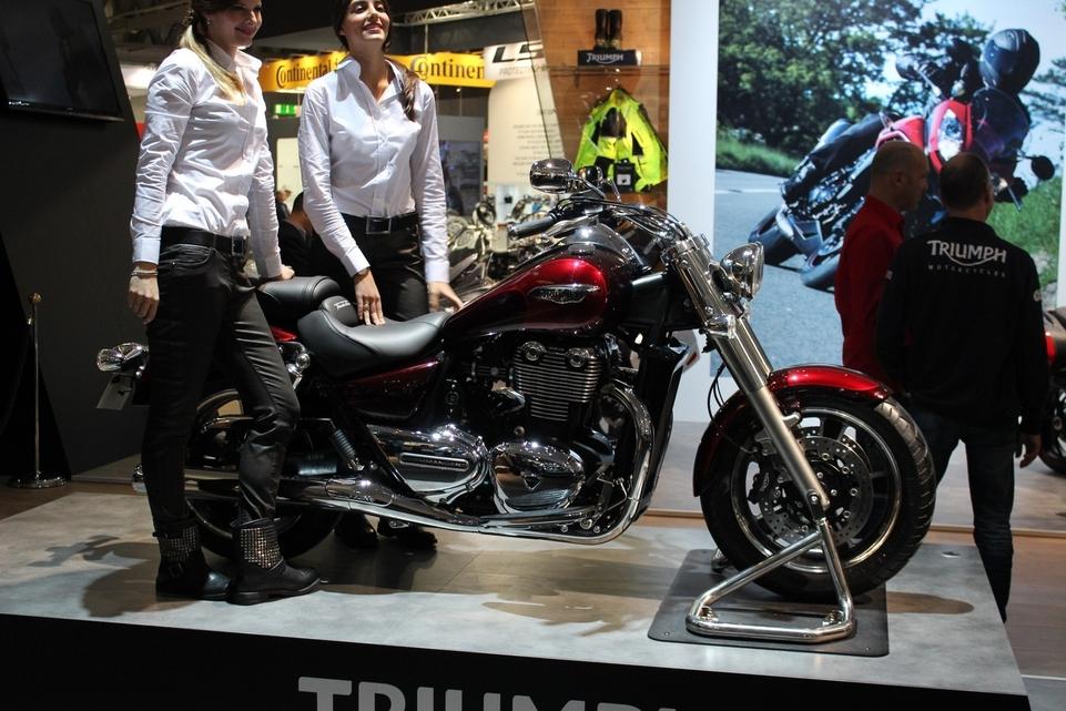 En direct du salon de Milan 2013 : Triumph Thunderbird Commander