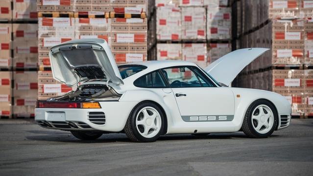A vendre : collection exceptionnelle de Porsche avec une 959 Sport inédite