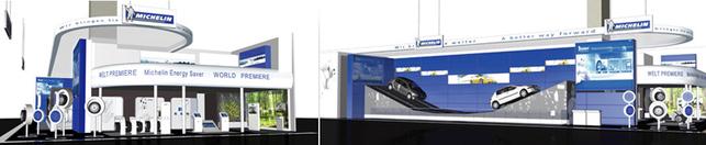 Salon de Francfort : Michelin fait une démo spectaculaire de son pneu écolo Michelin Energy Saver. La vidéo !