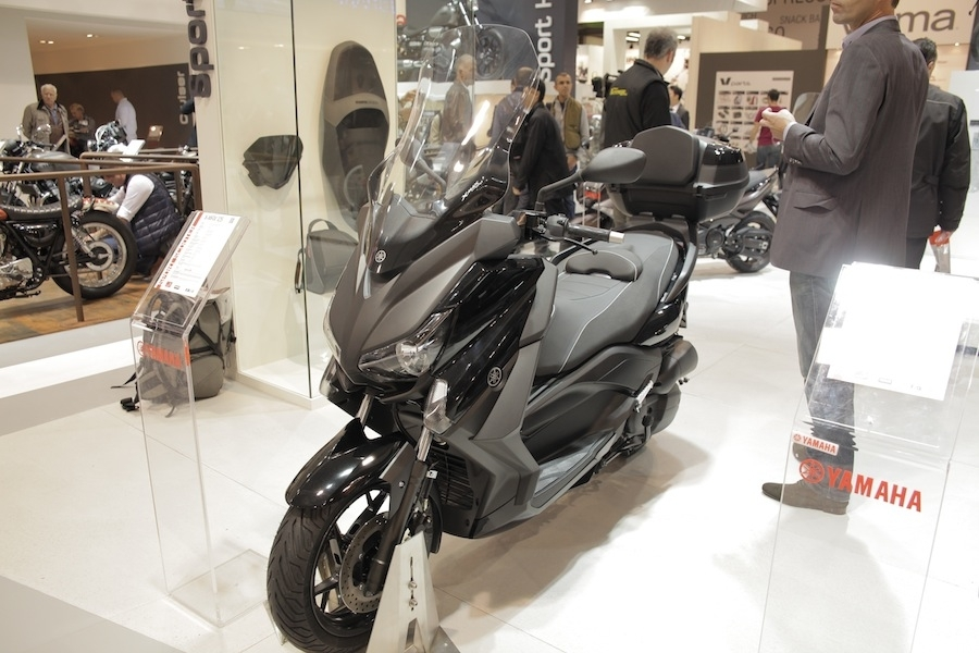 Salon de Milan En Direct : Yamaha X Max 125/250 cm3