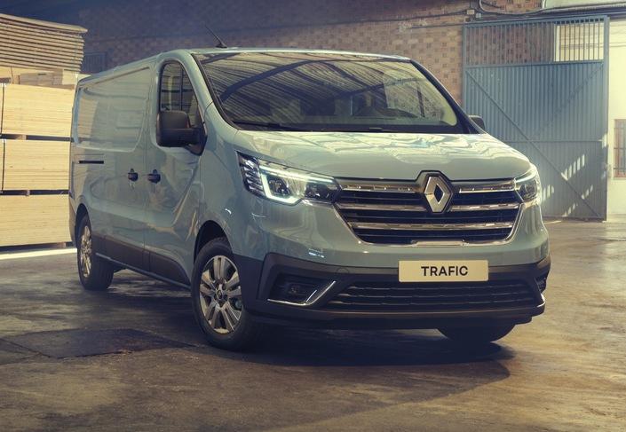 Renault dévoile le Trafic restylé