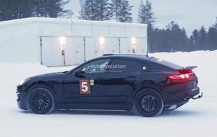 Une mystérieuse Porsche en préparation