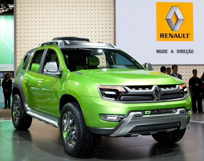 Salon de Sao Paulo - Renault DCross Concept