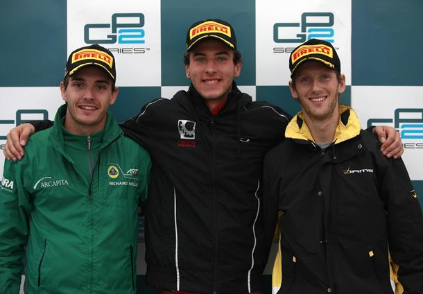 GP2 Spa Course 1 : Vietoris gagne, Grosjean aussi. Il est le champion 2011 de GP2