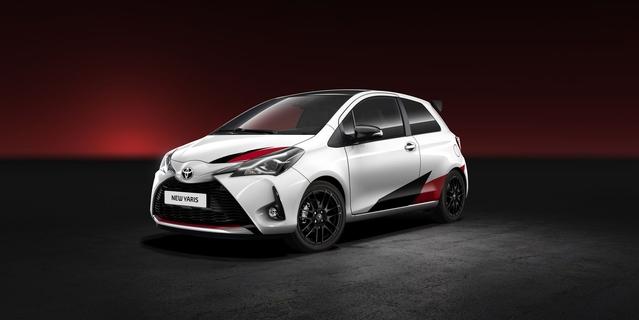 Salon de Genève 2017 - Toyota Yaris: restylage et sportive de plus de 210 ch