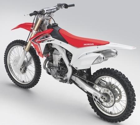Honda: la CR-F 450 R millésime 2013 se dévoile