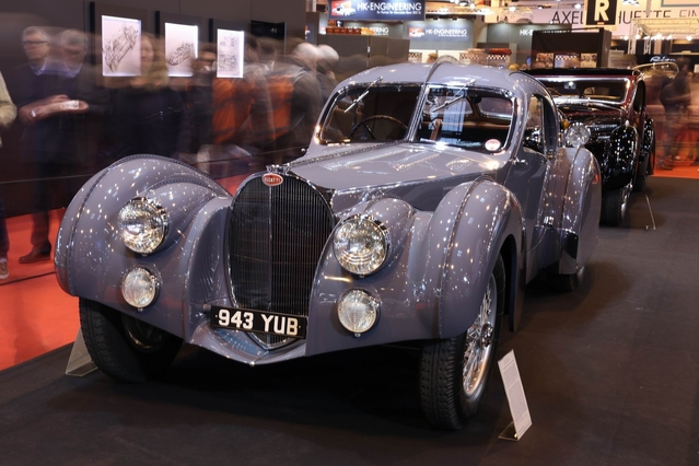 Bugatti et Bentley, une même quête de l'excellence - Vidéo en direct de Rétromobile 2017