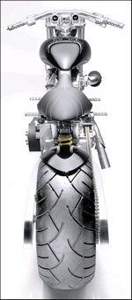 Pantera Dragster by Custom Motorcycle Design