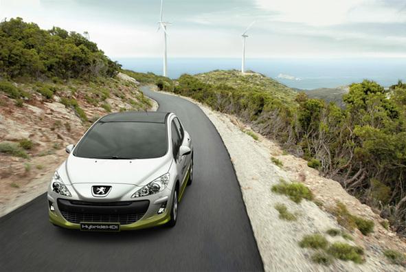 Salon de Francfort : la Peugeot 308 aura sa version hybride