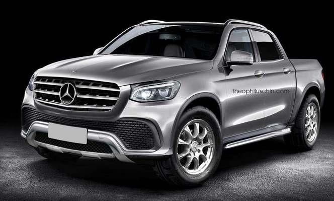 Futur pick-up Mercedes : comme ça ?