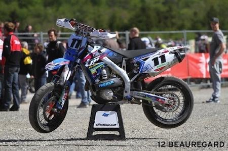 Supermotard 2012: Thomas Verscheure arrête la compétition