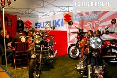 Rassemblement du Suzuki Triples Club de France du 18 au 20 juin 2010 à Vézac (24).