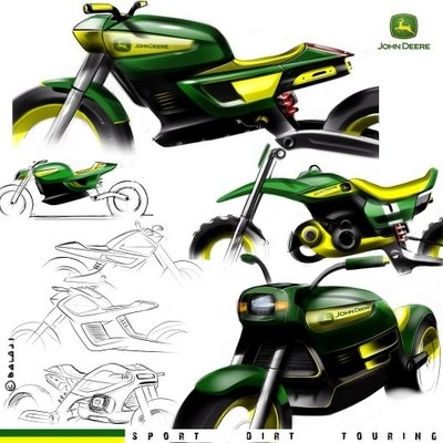 Photo du jour :  John Deere Concept Bike