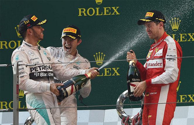 F1 - GP de Chine : Hamilton reprend sa marche en avant