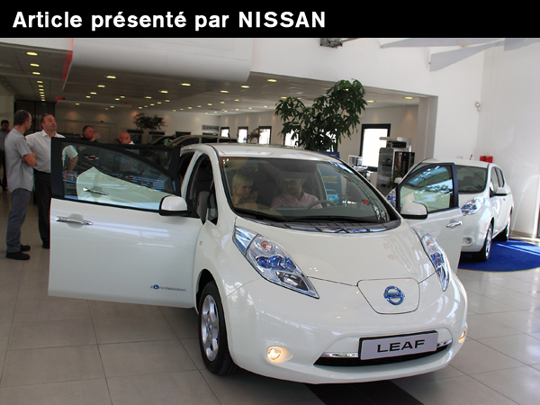la premi re leaf livr e une famille d aix en provence r dig par nissan. Black Bedroom Furniture Sets. Home Design Ideas