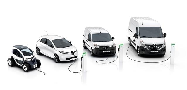 Renault étend sa gamme d'électriques avec le Master Z.E et un nouveau Kangoo Z.E