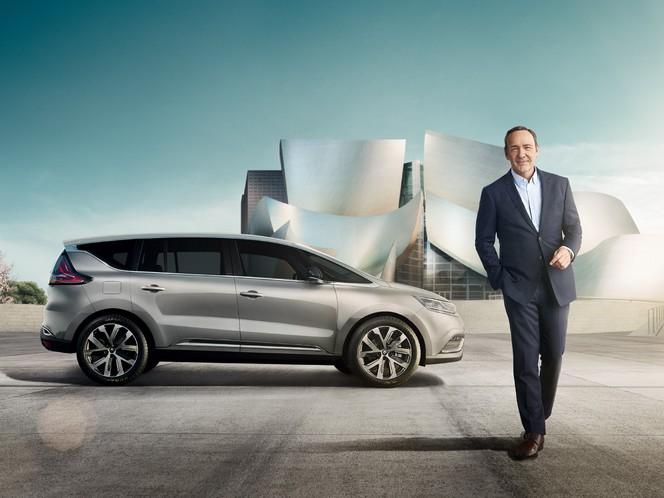 Renault se paye Kevin Spacey pour promouvoir l'Espace