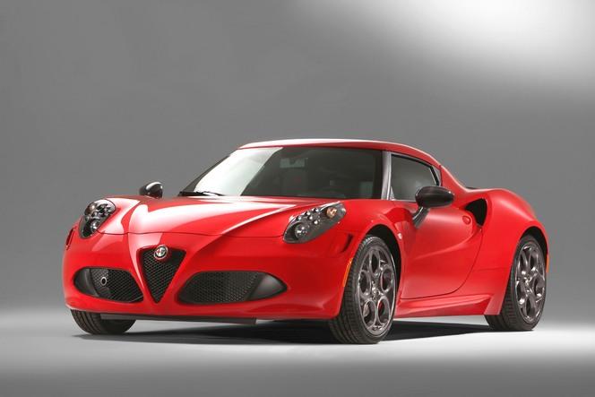 L'Alfa Romeo 4C élue plus belle voiture de l'année 2013