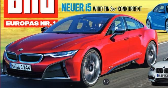 Future BMW i5 : elle arrive en 2018