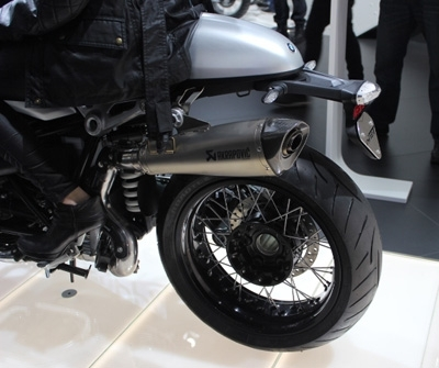 En direct du salon de Milan 2013 : BMW R nineT