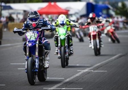 Championnat de France de Supermotard 2015, round 4: Bidart encore