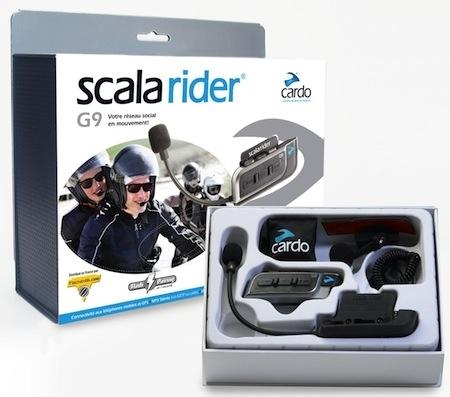 Tecno Globe Scala Rider G9: capable de communiquer jusqu'à 9 motards...