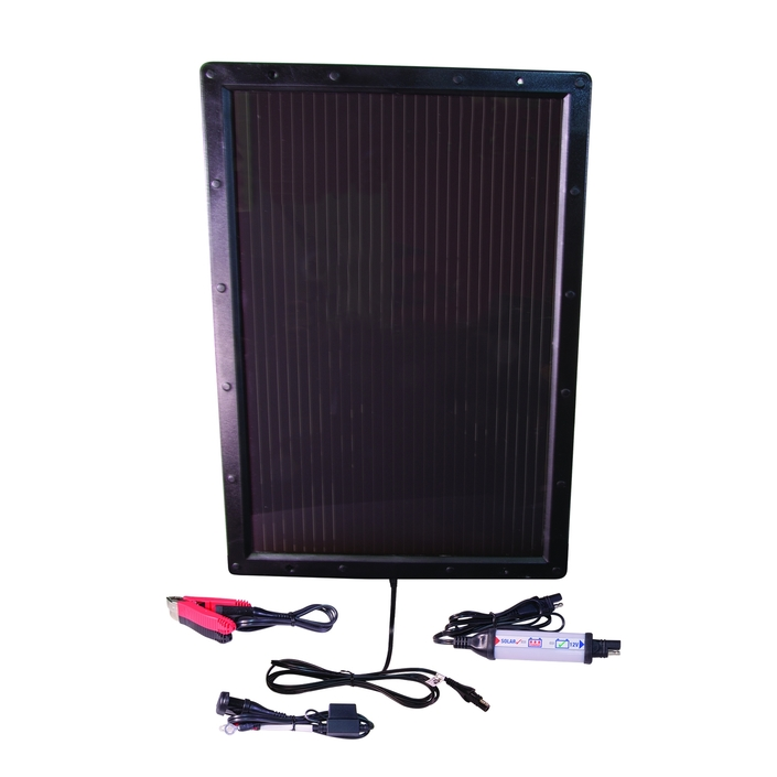 OptiMate Solar: rechargez votre batterie par le solaire