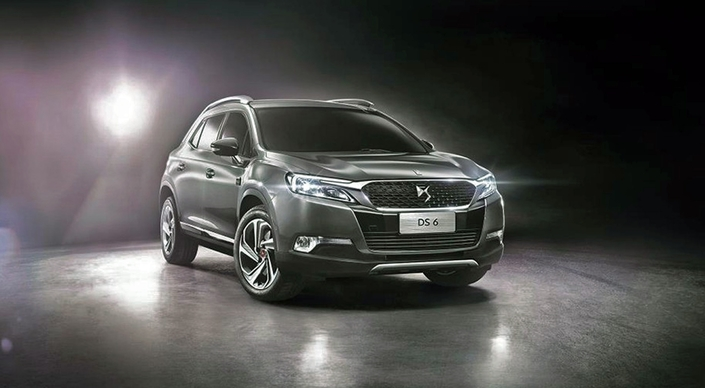 Le DS 6 avant restylage.