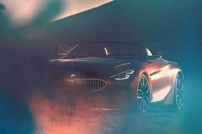 Surprise : le concept BMW Z4 en avance