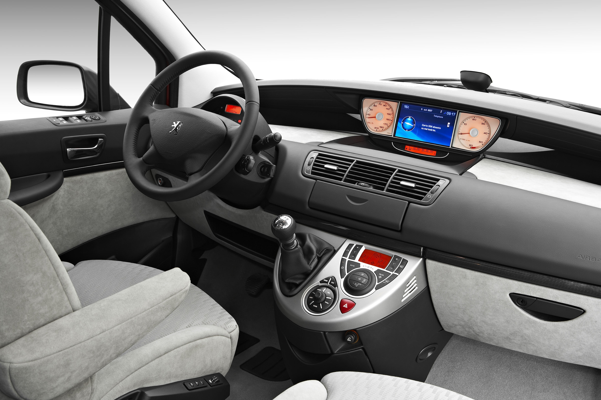 Peugeot 807 for Interieur 806