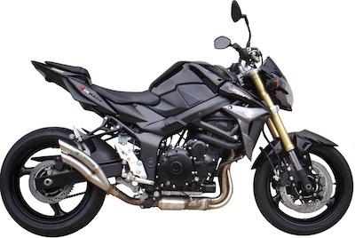 Ixrace augmente le son de la Suzuki GSR 750.