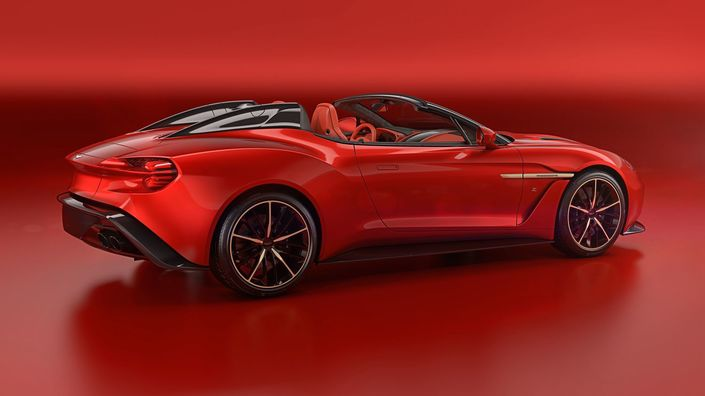 Aston Martin Vanquish Zagato: voici le Speedster et le Shooting Brake