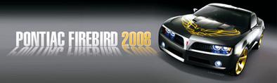 La Pontiac Firebird de retour ?