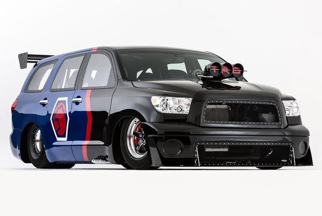 SEMA Show 2012 : Toyota Camry Rowdy Edition, celle à Kyle Bush