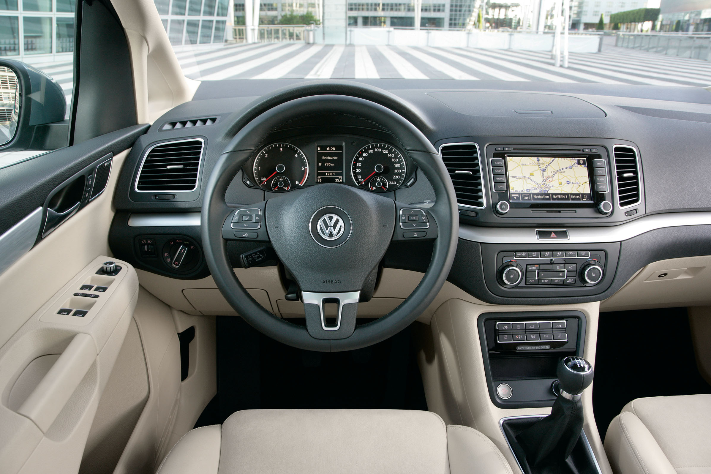 Volkswagen sharan for Interior touran